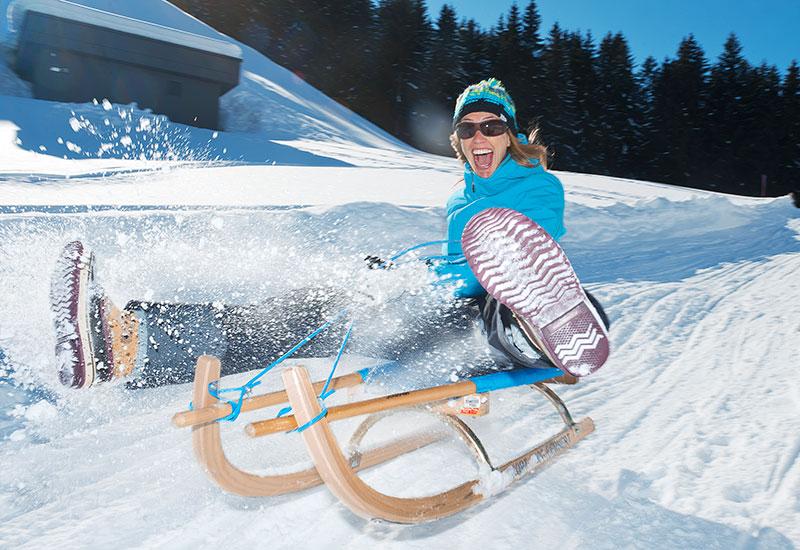 Skiwelt Appartements Landhaus Maria Elisabeth – Rodeln in der Skiwelt macht einfach mehr Spaß