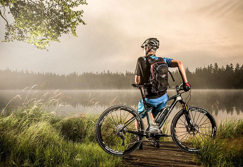 Mit dem E-Bike erreichen Sie die schönsten Ziele in der Region!